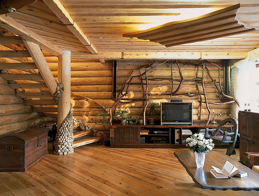 Деревянные интерьеры в вашем доме 6