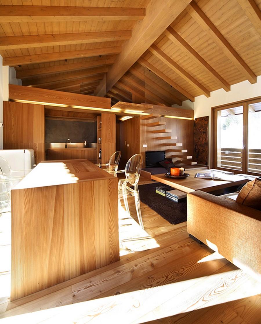 Деревянные интерьеры в вашем доме 8