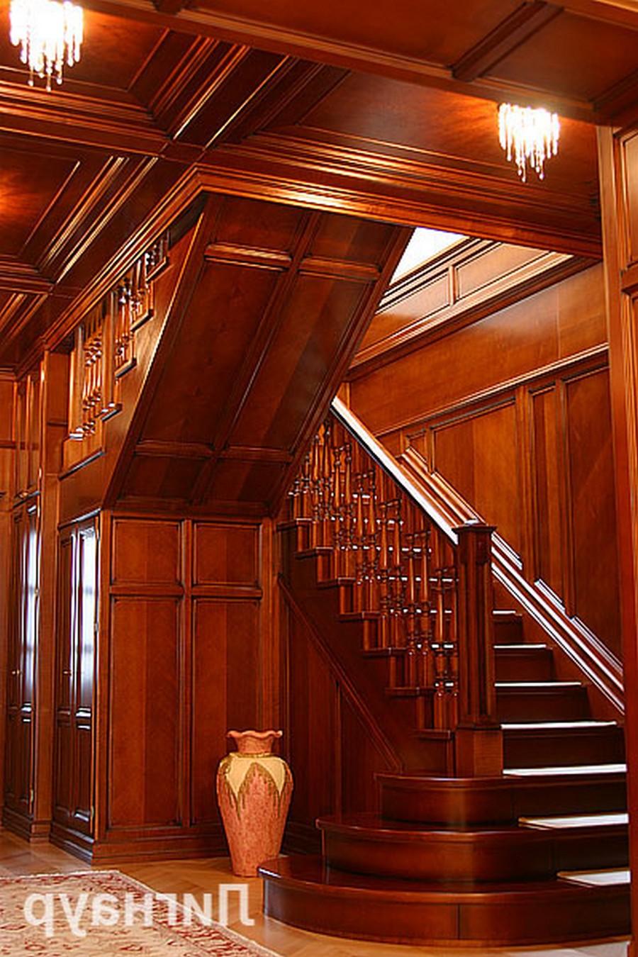 Деревянные интерьеры в вашем доме 13