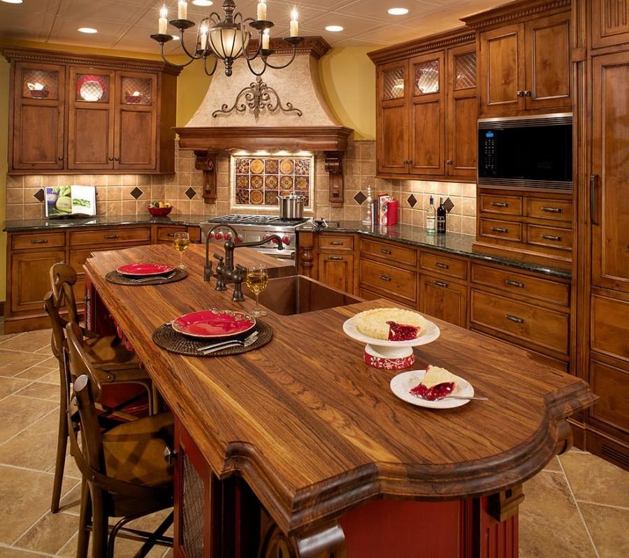 Деревянные интерьеры в вашем доме 14