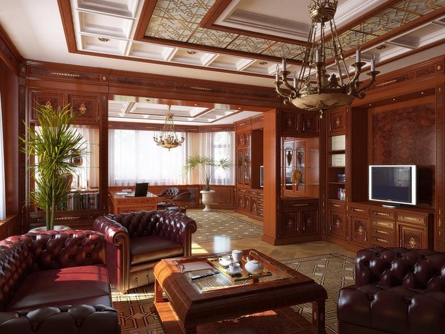 Деревянные интерьеры в вашем доме 15