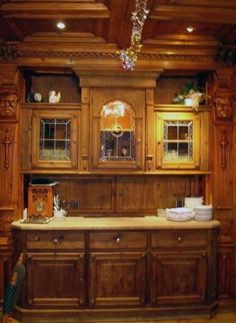 Деревянные интерьеры в вашем доме 19