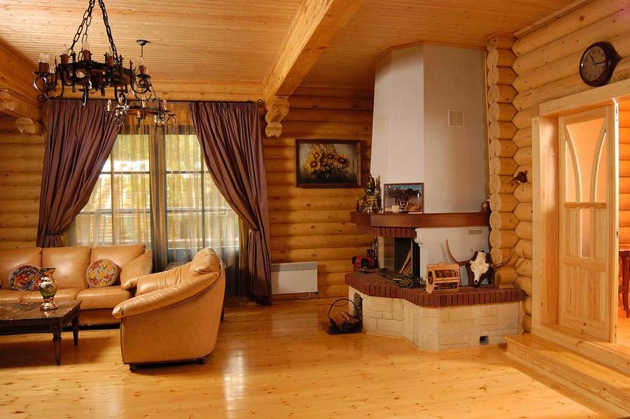 Деревянные интерьеры в вашем доме 20