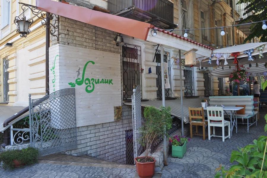 Интерьер кафе Базилик в стиле прованс 2