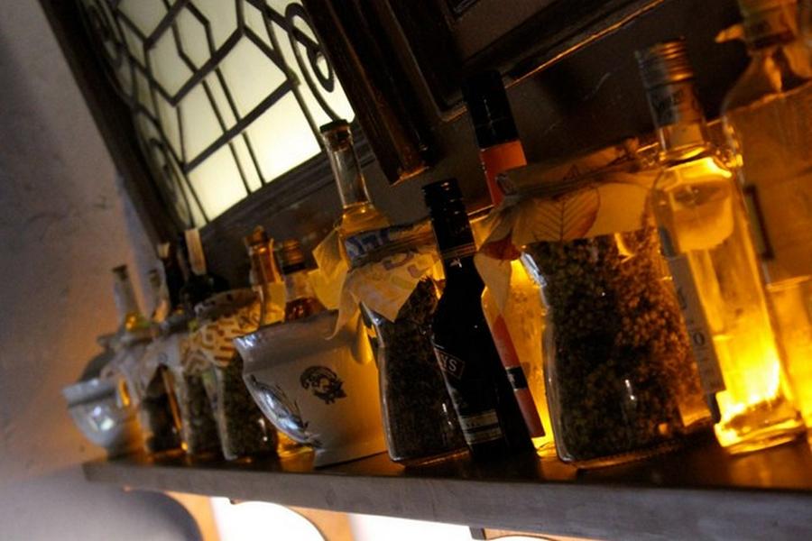 Интерьер кафе Базилик в стиле прованс 12