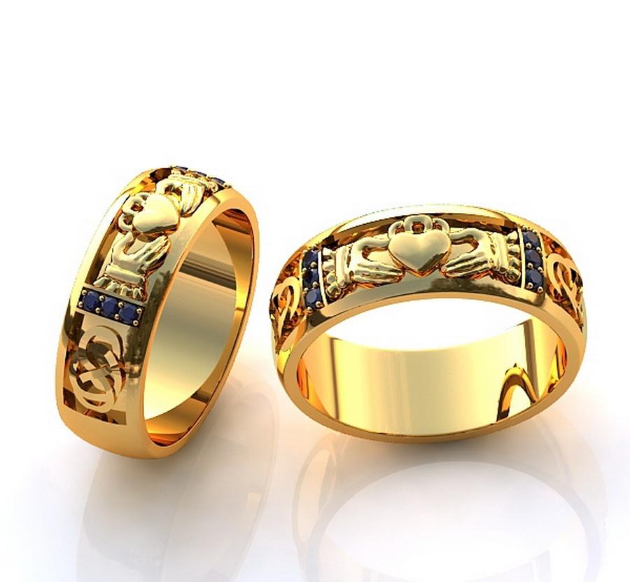 Обручальные кольца, как символ вечной любви 2