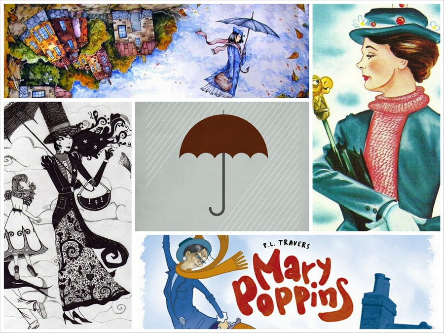 Мэри Поппинс - образ идеальной няни