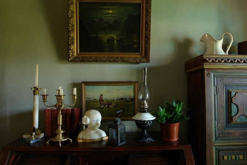 Русский стиль кантри в интерьере дома в Ленинградской области 18