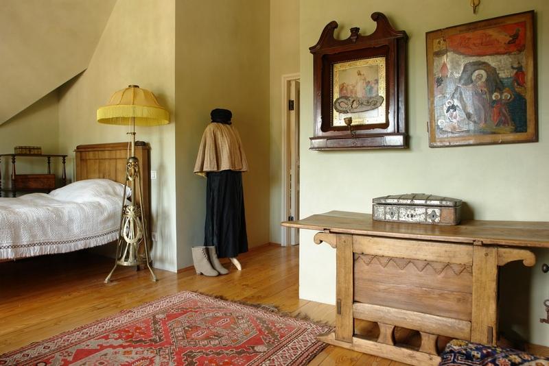 Русский стиль кантри в интерьере дома в Ленинградской области 21