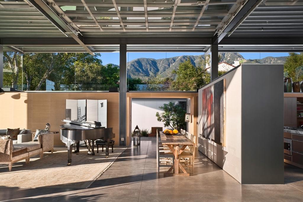 Стеклянный дом Montecinto Residence от Barton Myers Associates 3