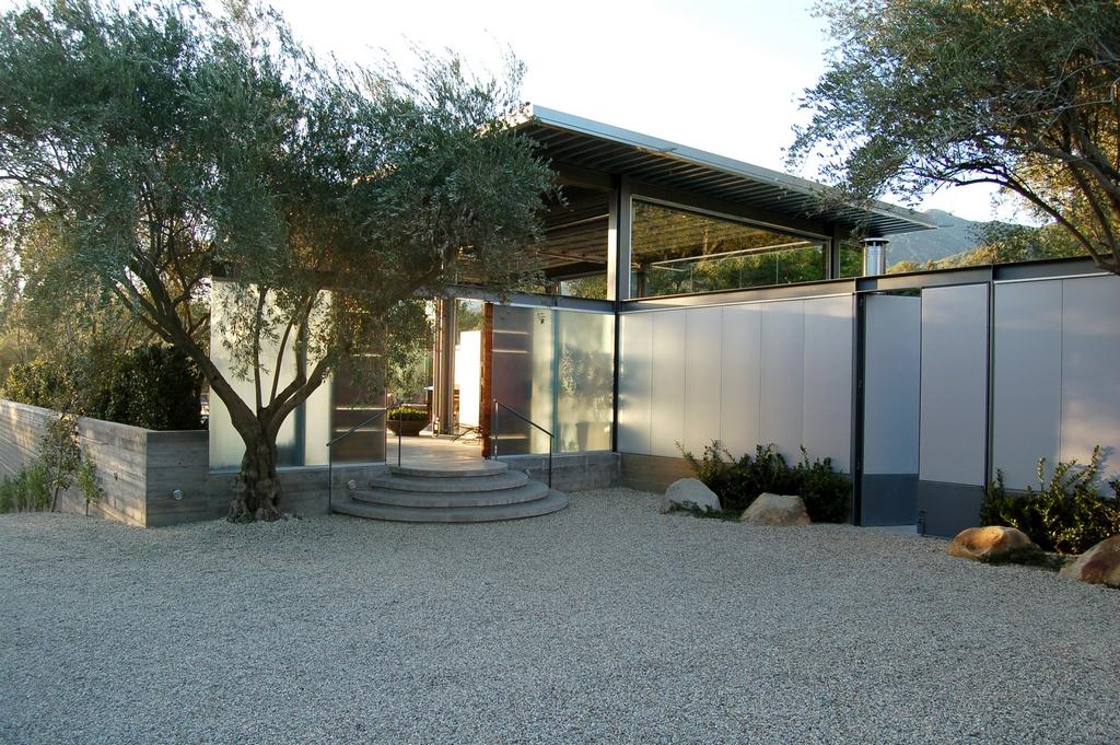 Стеклянный дом Montecinto Residence от Barton Myers Associates 5