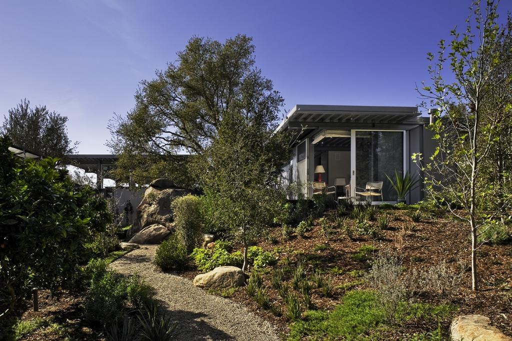 Стеклянный дом Montecinto Residence от Barton Myers Associates 11