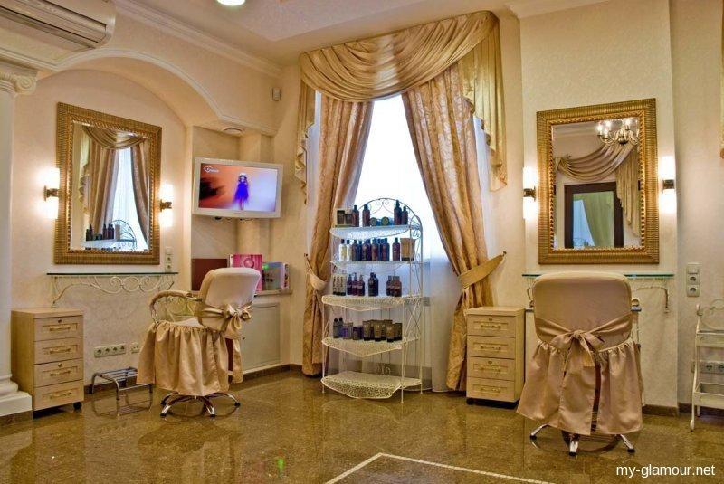 Дизайн интерьера помещения салона красоты 1