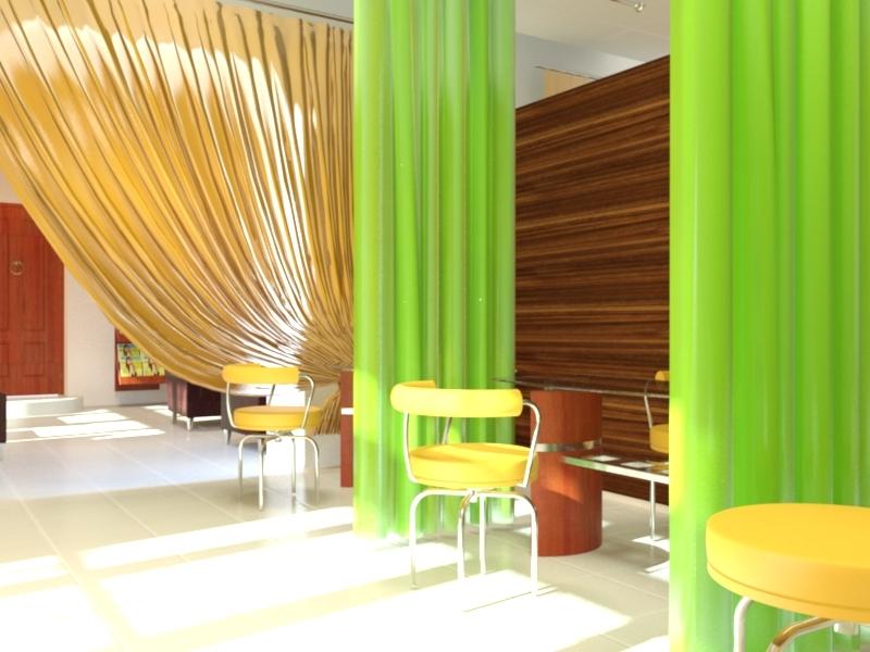 Дизайн интерьера помещения салона красоты 5