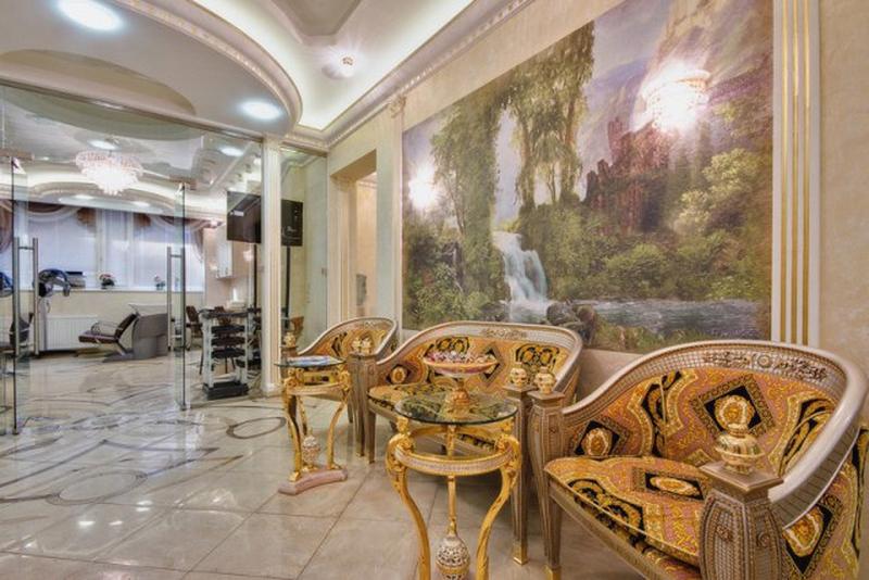 Дизайн интерьера помещения салона красоты 8