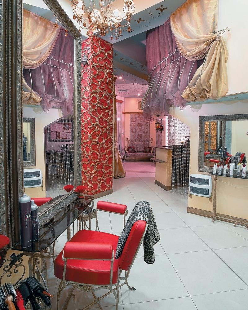 Дизайн интерьера помещения салона красоты 9