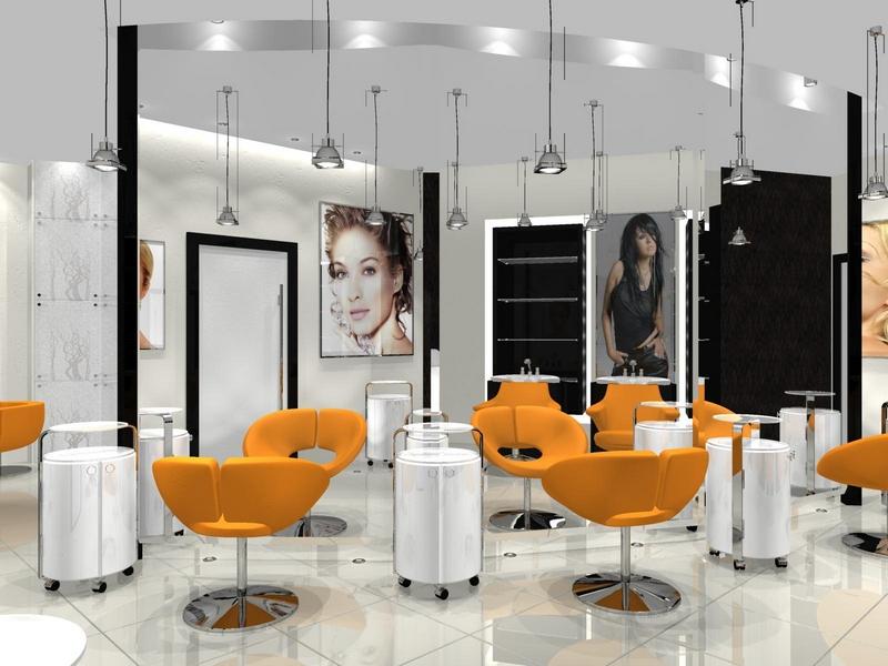 Дизайн интерьера помещения салона красоты 12