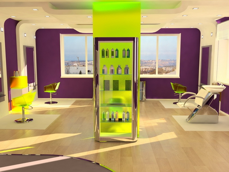 Дизайн интерьера помещения салона красоты 14