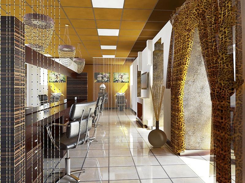 Дизайн интерьера помещения салона красоты 18