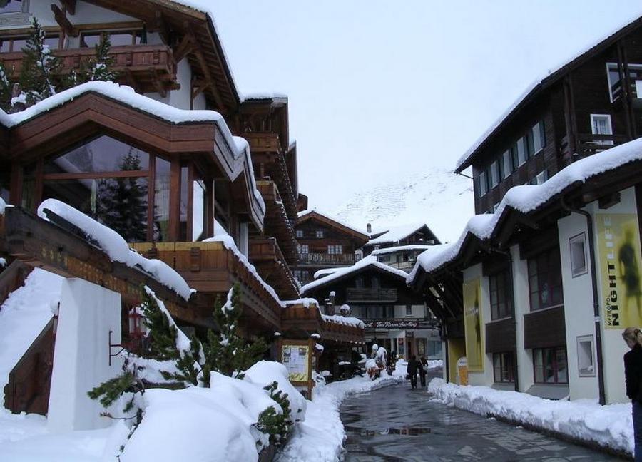 Саас фе - швейцарские горнолыжные курорты 3