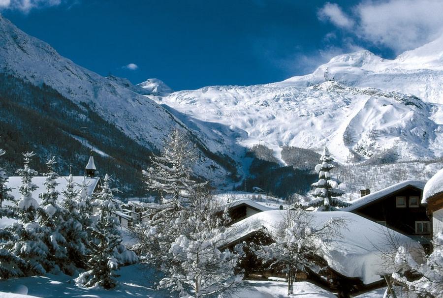 Саас фе - швейцарские горнолыжные курорты 4
