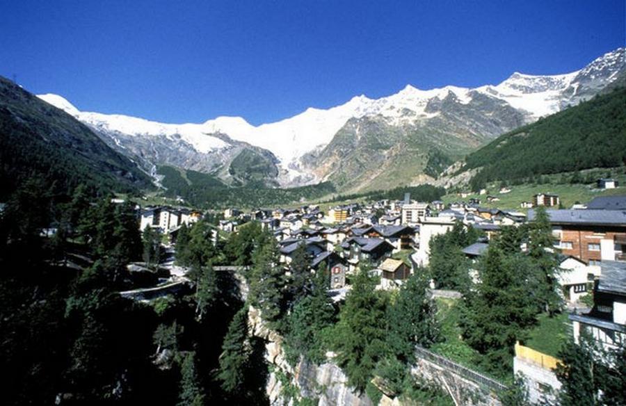 Саас фе - швейцарские горнолыжные курорты 6