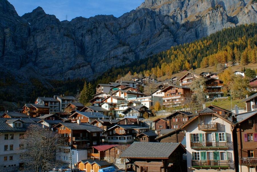 Саас фе - швейцарские горнолыжные курорты 7