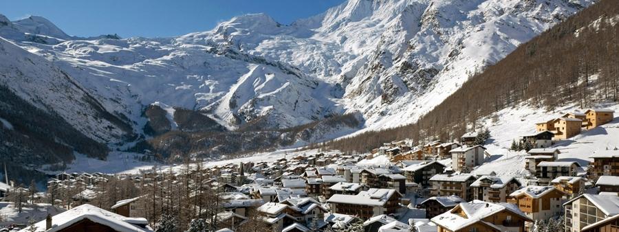 Саас фе - швейцарские горнолыжные курорты 9