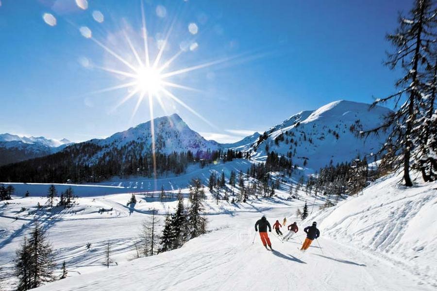 Саас фе - швейцарские горнолыжные курорты 10