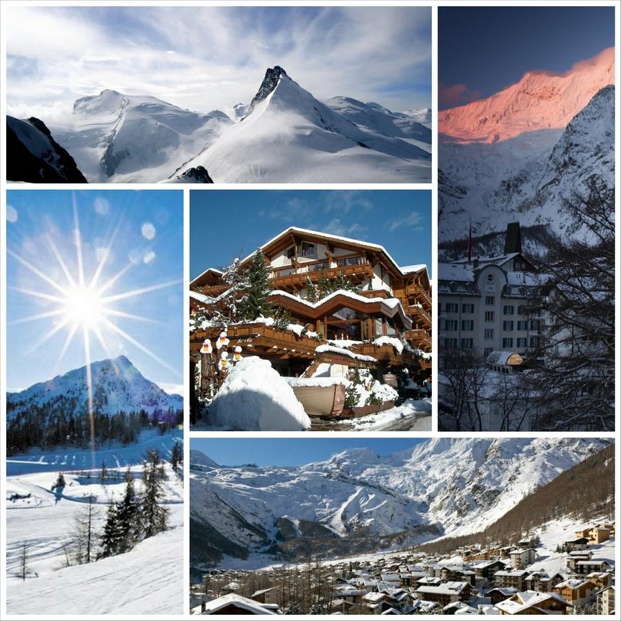 Саас фе - швейцарские горнолыжные курорты