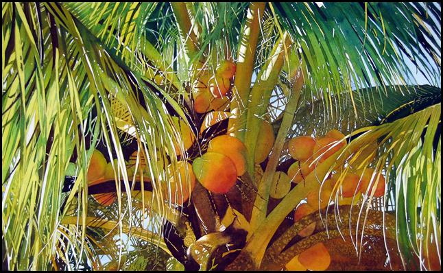 Художница-акварелист из Майами Jaimie Cordero