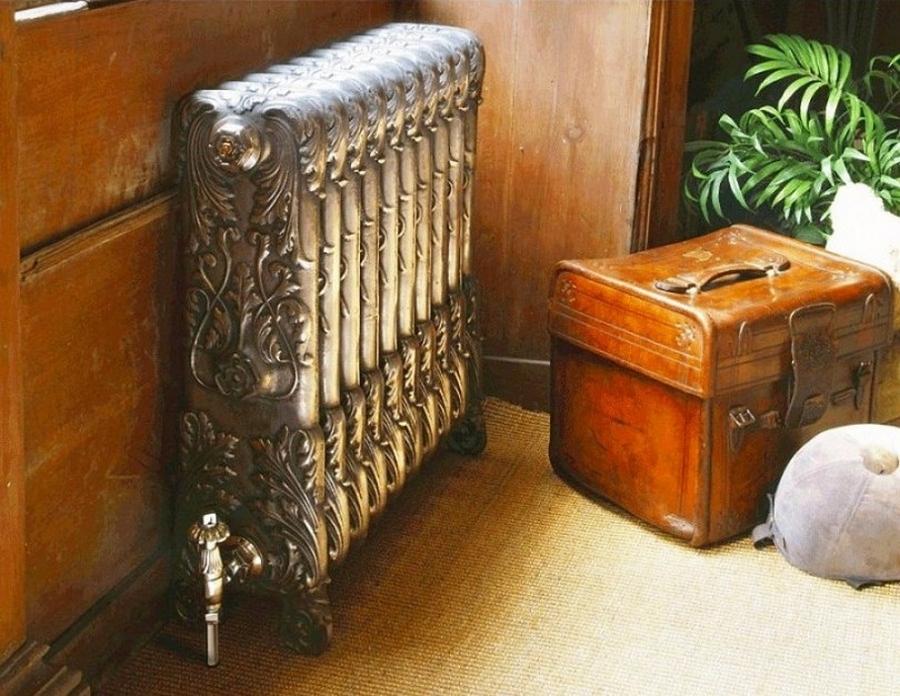 Модные чугунные радиаторы отопления в интерьере вашего дома 1
