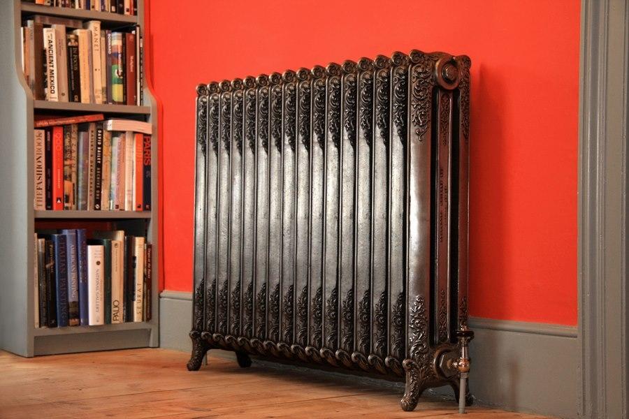 Модные чугунные радиаторы отопления в интерьере вашего дома 2