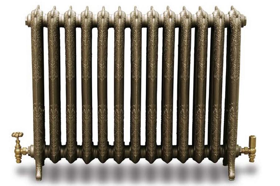 Модные чугунные радиаторы отопления в интерьере вашего дома 3