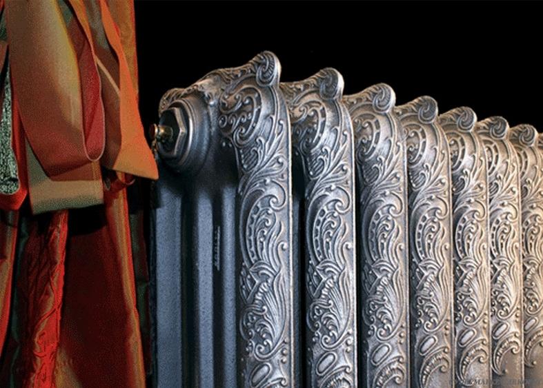 Модные чугунные радиаторы отопления в интерьере вашего дома 4