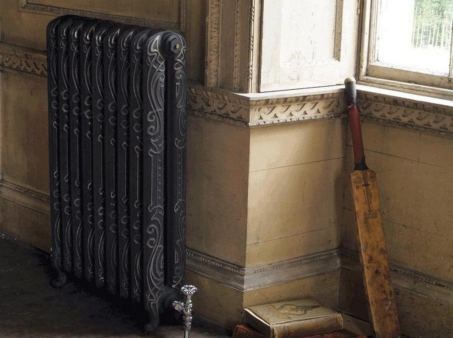 Модные чугунные радиаторы отопления в интерьере вашего дома 5