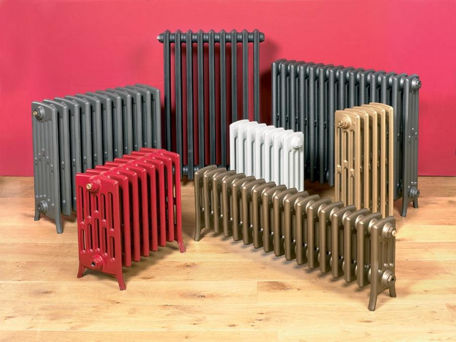 Модные чугунные радиаторы отопления в интерьере вашего дома 6