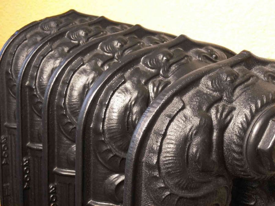 Модные чугунные радиаторы отопления в интерьере вашего дома 7