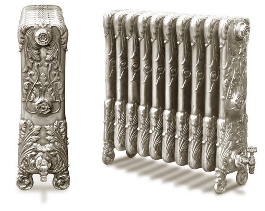 Модные чугунные радиаторы отопления в интерьере вашего дома 8
