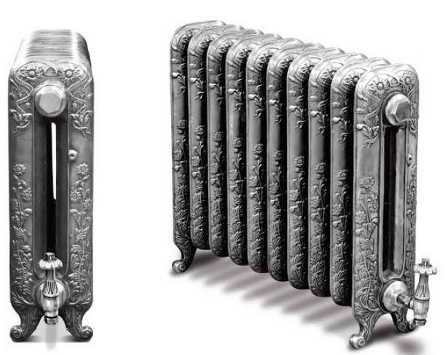 Модные чугунные радиаторы отопления в интерьере вашего дома 9