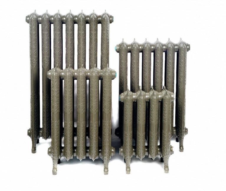 Модные чугунные радиаторы отопления в интерьере вашего дома 10