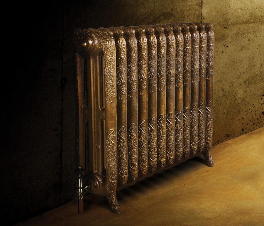 Модные чугунные радиаторы отопления в интерьере вашего дома 11