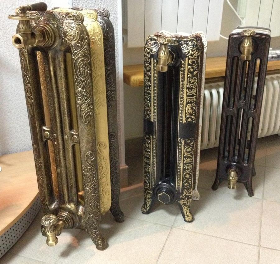 Модные чугунные радиаторы отопления в интерьере вашего дома 12