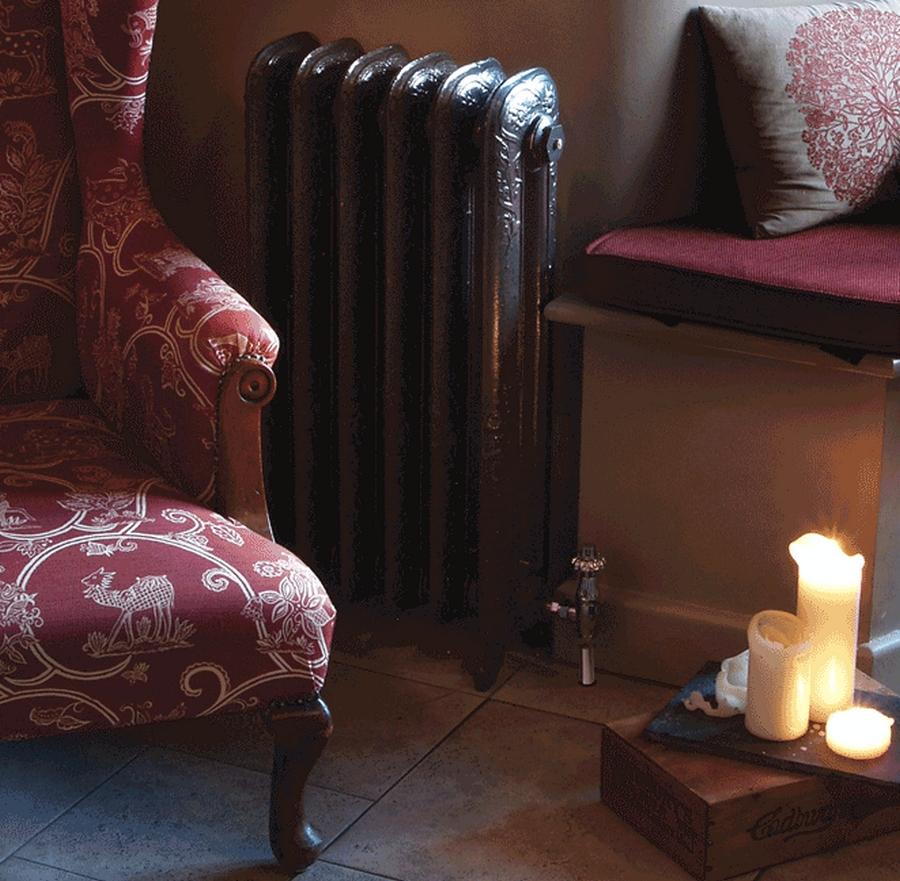Модные чугунные радиаторы отопления в интерьере вашего дома 13