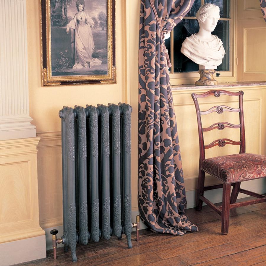 Модные чугунные радиаторы отопления в интерьере вашего дома 17