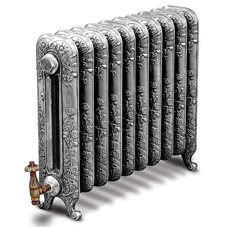 Модные чугунные радиаторы отопления в интерьере вашего дома 19