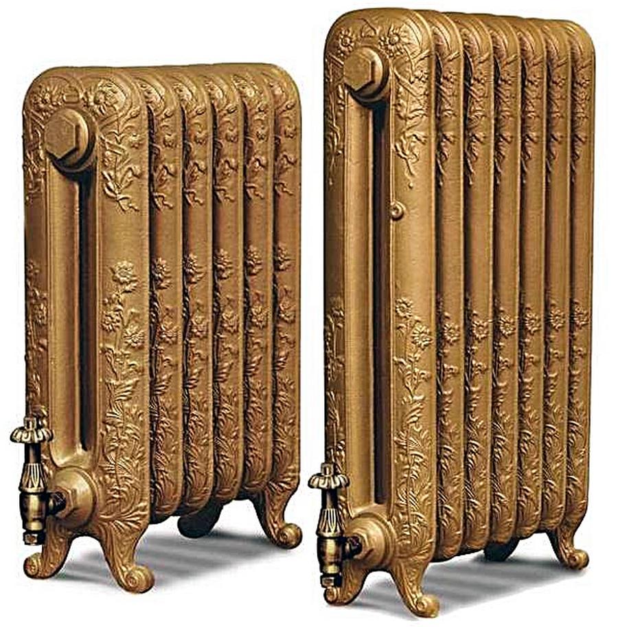 Модные чугунные радиаторы отопления в интерьере вашего дома 20