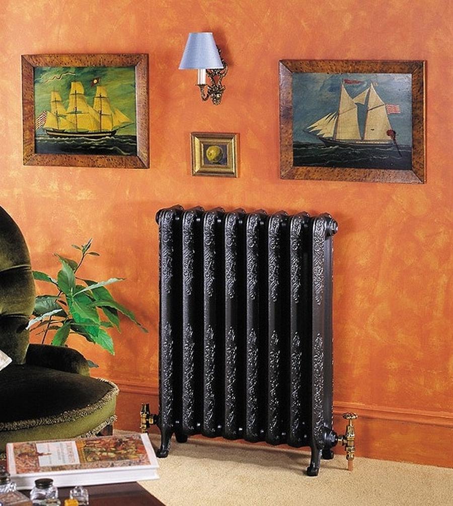 Модные чугунные радиаторы отопления в интерьере вашего дома 22