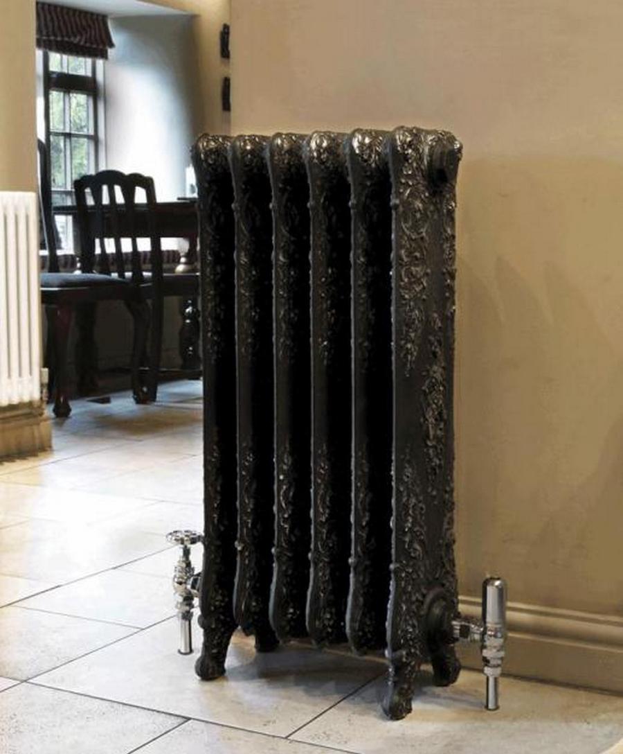 Модные чугунные радиаторы отопления в интерьере вашего дома 23