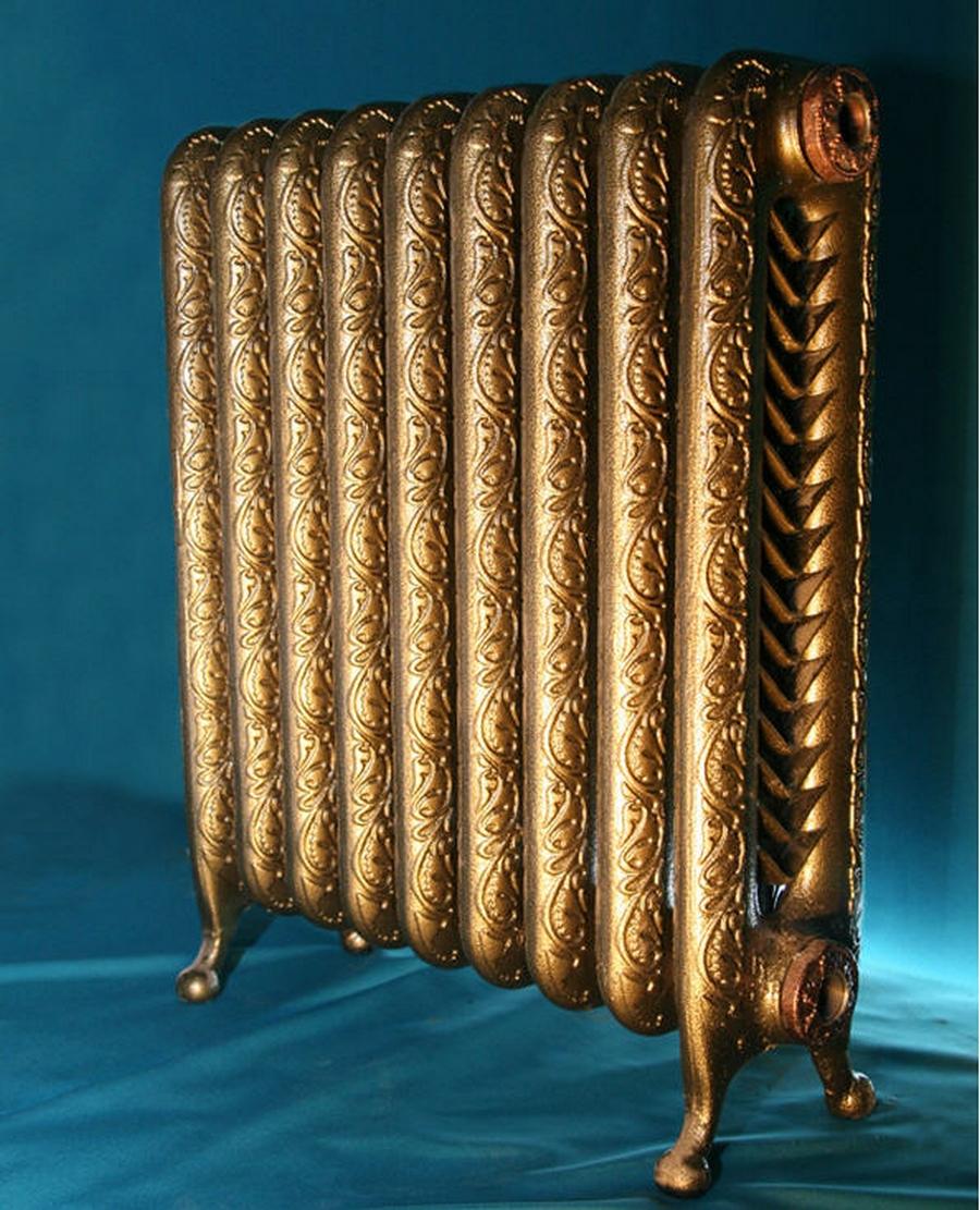 Модные чугунные радиаторы отопления в интерьере вашего дома 24
